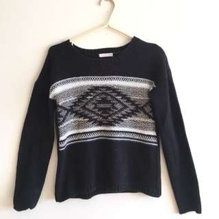 Ardene Black Knit Sweater