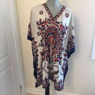 Kimono-style Dress