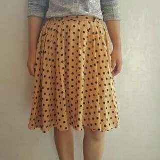 Preloved Polka Skirt