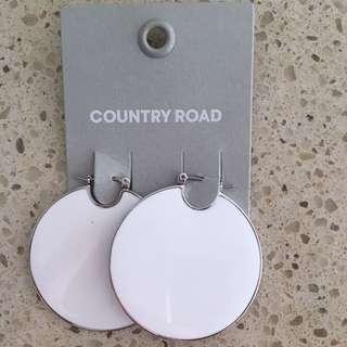 Country Road Reversible Earrings BNWT