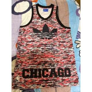 Adidas Originals Chicago Bulls Tank愛迪達芝加哥公牛隊復古球衣