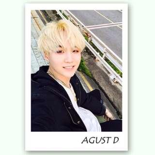 [BTS]Suga-Agust D 仿男友拍立得