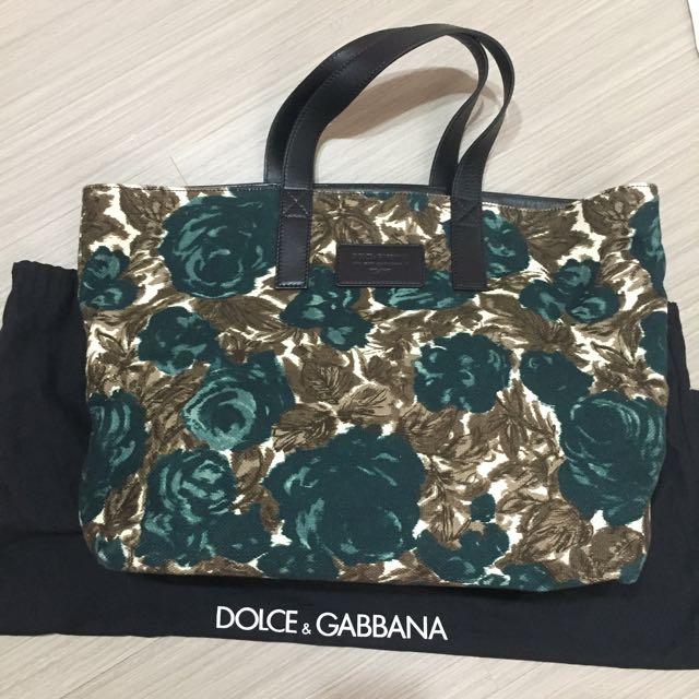 100% 真品 Dolce&Gabbana D&G 花卉 包 #我有正品名牌包要賣
