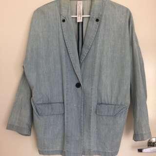 Baggy Vintage Boyfriend Denim Jacket