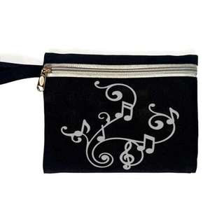 Music Notes Pouch