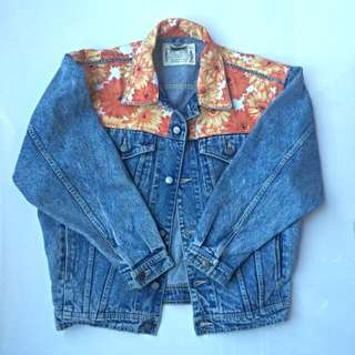 Revamped Vintage Denim Jacket