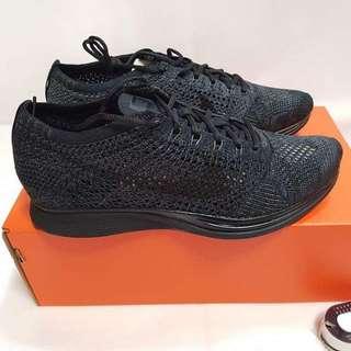 PRICE DROP!!! Nike Flyknit Racers (Triple Black)