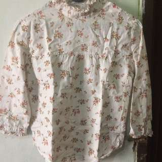 Baju Flower Cream