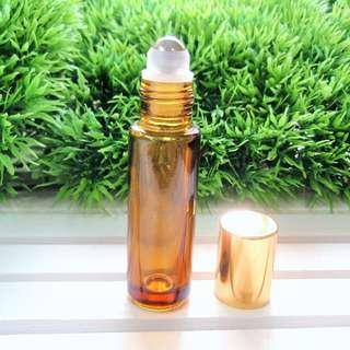 Amber Brown Roller Bottle | 10ML Roller Bottle | Essential Oil Bottle | 10ML Roll on Bottle | Good Quality Roll on Bottle