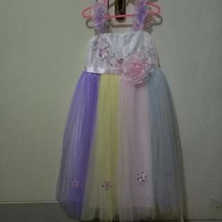 Party Dress Rainbow