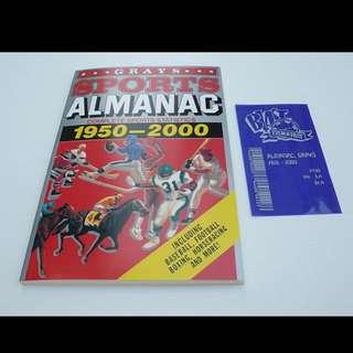 回到未來 體育年鑑 Back To The Future Greys Sport Almanac
