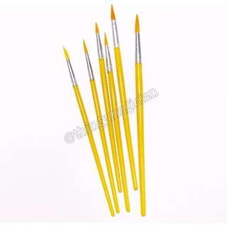 Paint Brush (6pcs)