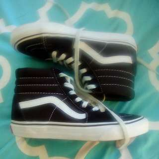 Vans Sk8 Hi-top Shoes Size 6
