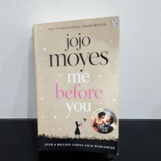 Buku Novel Me Before You By Jojo Moyes In English