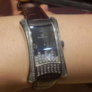 法國BijouMontre寶爵錶 曼哈頓鑽錶 附保證書保證卡