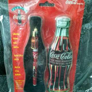[BN] Coca-Cola Coke Pen in Collectible Tin (Vintage collection - 2 Designs Available) / Contour Bottle