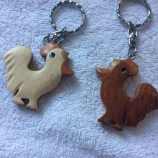 Chicken Keyring