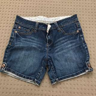 Size 10 Hot Option Denim Shorts