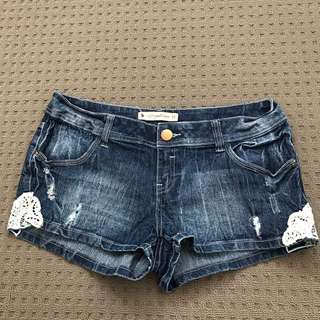 Sz12 Hot Options Denim Shorts