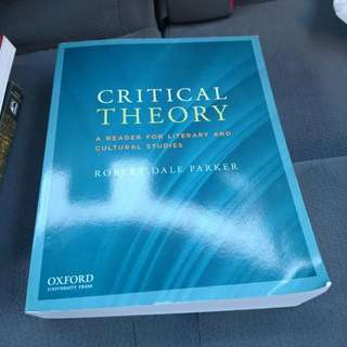 Critical Theory Reader