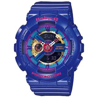 Baby-G BA112-2A 3D Analog Digital Watch