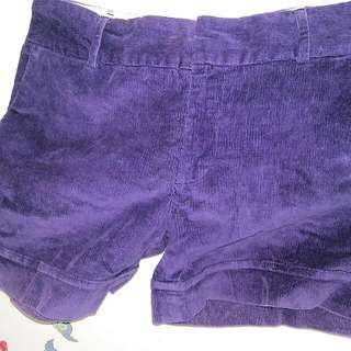 Short Pants Purple No.28 Size M