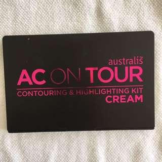 AUSTRALIS AC ON TOUR Cream Contouring & Highlighting - Light