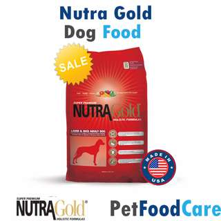 MADE IN USA Nutra Gold Holistic Lamb and Rice Adult Dog 2.5kg