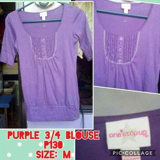 Purple Blouse!
