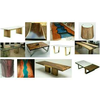 Collectif Designs Suar Wood & Marble Collection