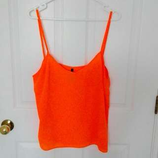 Fluro Orange Singlet