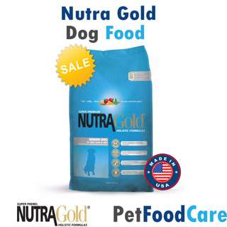 MADE IN USA Nutra Gold Holistic Senior Dog 3kg