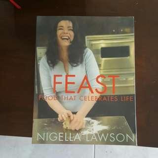 Nigella Feast Cookbook