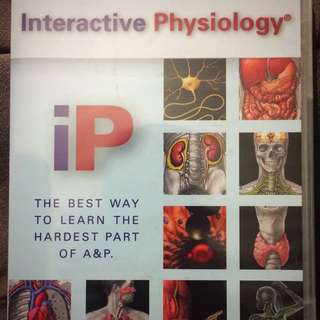 Interactive Physiology 10- System SuiteCd-rom