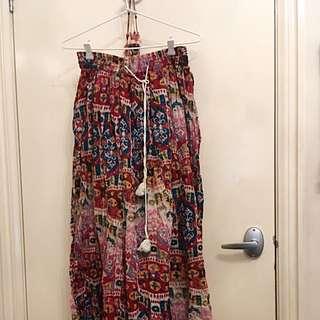 Long Gypsy Skirt (billabong)