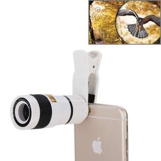 Mobile Telescope Clip Lens