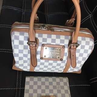 LV Speedy Bag And Wallet Bundle