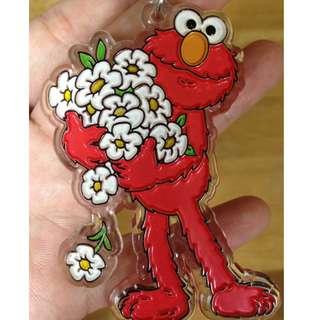 sesame street 芝麻街 Elmo 鑰匙圈/吊飾