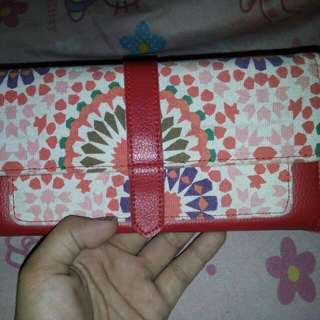Red Cute Long Wallet