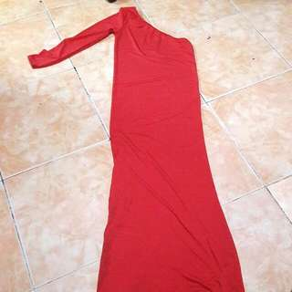 Red Longdress Bodycon