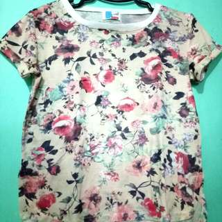 RePriced: BENCH FLORAL tees