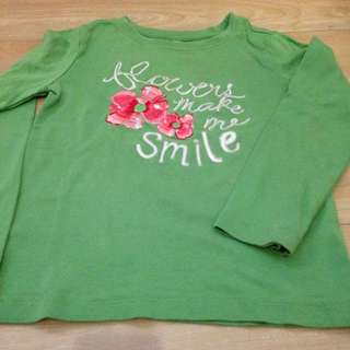 Gymboree Longsleeve Shirt For Girls Size 5y