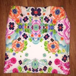 Floral Skirt, Never Worn
