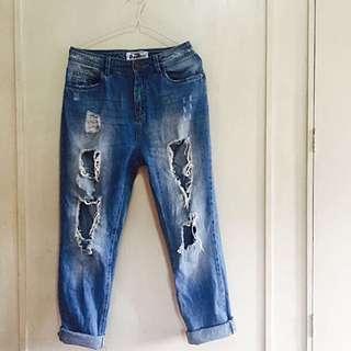 Terranova Ripped Jeans