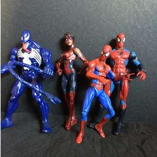 Marvel Legends Spiderman Set