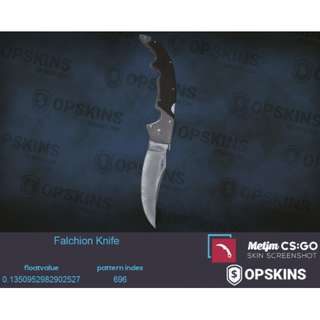 Falchion Knife Vanilla