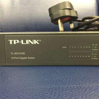 TP-LINK 16-Port Gigabit Switch