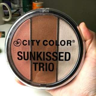 City Color Sunkissed Trio