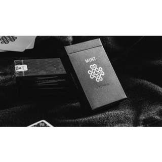 LAUNCH EDITION MINT PLAYING CARDS