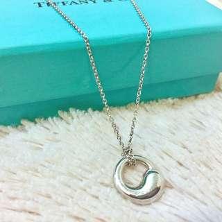 【正品】Tiffany&Co經典太極純銀項鍊